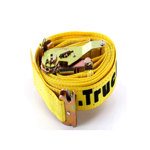 "2""x12' Yellow Color E-Track Ratchet Strap"