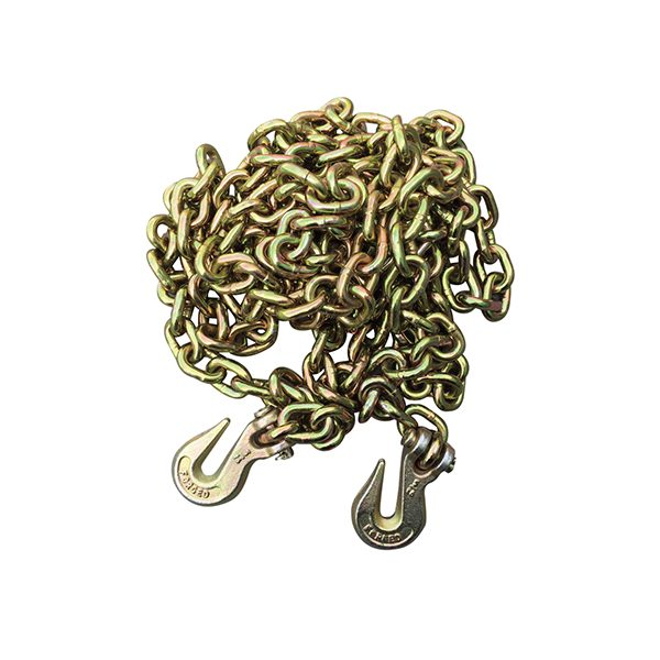 "3/8""x20' Grade 70 Transport Chain With The Hook"
