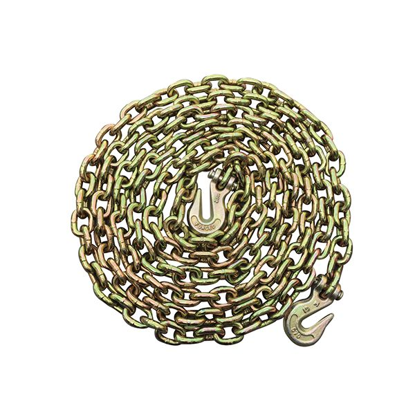 """5/16""""x20' Grade 70 Transport Binder Chain With The Hook"""