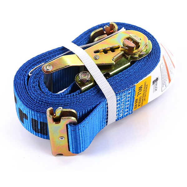 "2""x16' Blue Color E-Track Ratchet Strap"