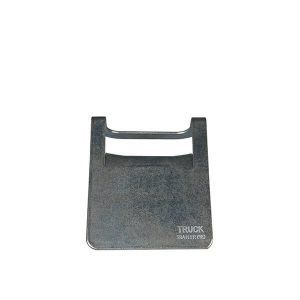 "6""x4"" Steel Corner Protector with Rubber Backing"