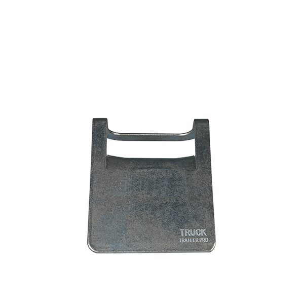 """6""""x4"""" Steel Corner Protector with Rubber Backing"""